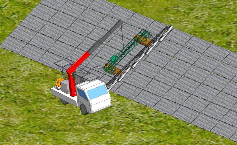 Gekko Solar Farm Robot
